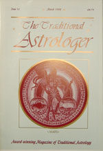 Traditional Astrologer Magazine issue 16