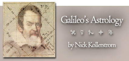 Galileo's Astrology by Nick Kollerstom