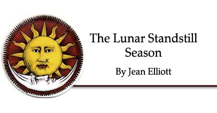 The Lunar Standstill Season by Jean Elliott