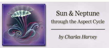Sun and Neptune through the Aspect Cycle by Charles Harvey