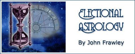 Electional Astrology by John Frawley