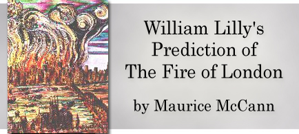 William Lilly's Prediction of The Fire of London