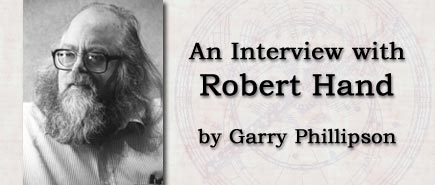 An Interview with Robert Hand by Garry Phillipson