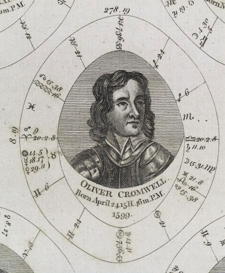 Sibly's horoscope for Cromwell