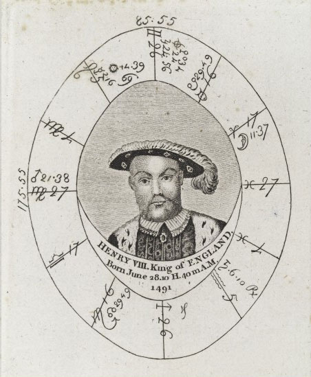 Sibly's horoscope for King Henry VIII