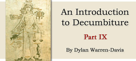 An Introduction to Decumbiture, part 9, by Dylan Warren-Davis