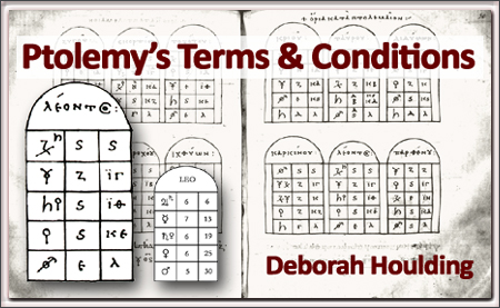 Ptolemy's Terms and Conditions, by Deborah Houlding