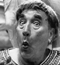 Frankie Howard, from 'Up Pompeii'