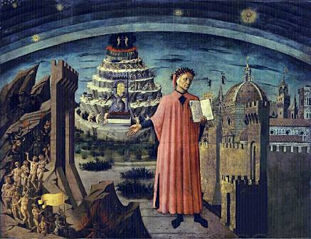Dante's Divine Comedy - a tour through hell, puragtory and paradise.