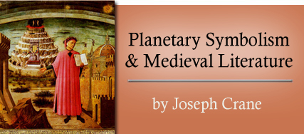 Planetary Symbolism and Medieval Literature - by Joseph Crane