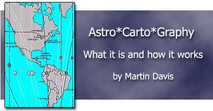astro*carto*graphy - what it is and how it works by Martin Davis
