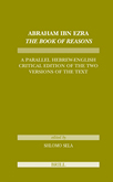 Abraham Ibn Ezra's, The Book of Reasons by Dr. Shlomo Sela