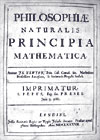 The Principia by Newton. Click here for online reproduction