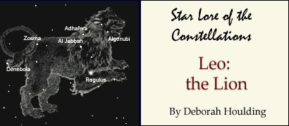 Star Lore of the Constellations: Leo the Lion - by Deborah Houlding