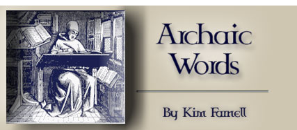 Archaic Words by Kim Farnell