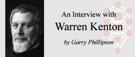 An Interview with Warren Kenton by Garry Phillipson