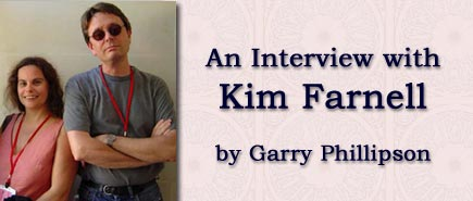An interview with Kim Farnell by Garry Phillipson