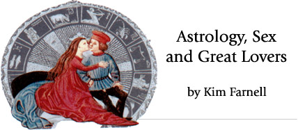 Astrology Sex and Great Lovers, by Kim Farnell