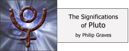 The Significations of Pluto by Philip Graves