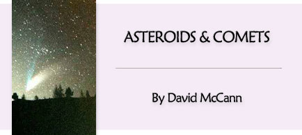 Asteroids and Comets by David McCann