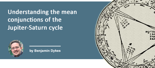 Understanding the mean conjunctions of the Jupiter-Saturn cycle by Benjamin Dykes
