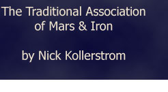 The Traditional Association of Mars and Iron by Nick Kollerstrom